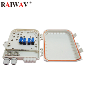 8 Core Flange Type Fiber Optic Distribution Box