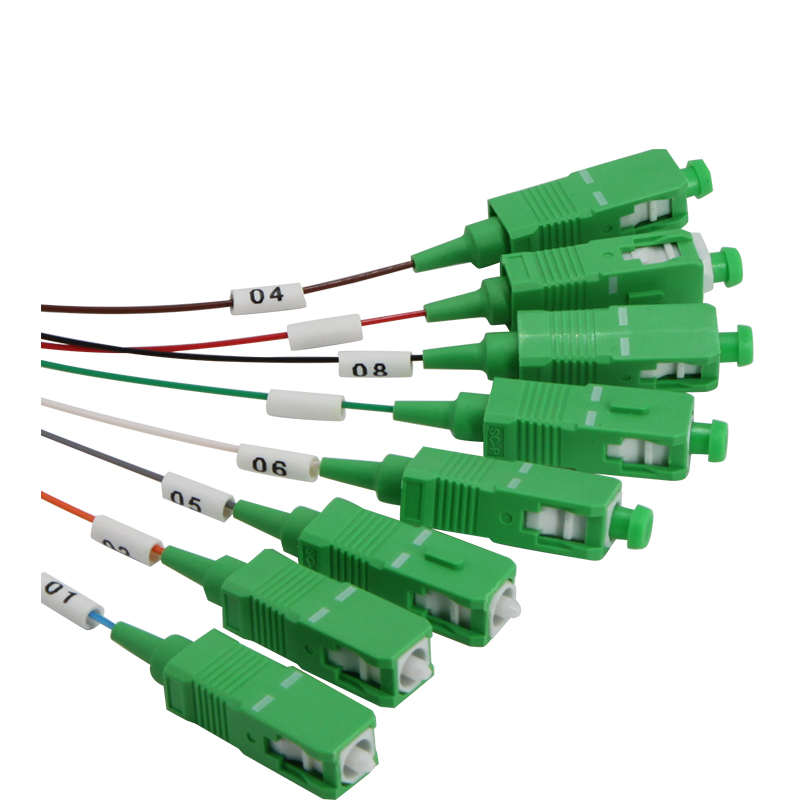FTTH FBT1X2 PLC1x8 Micro Fiber Optical Splitter