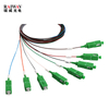 1X2 FBT and 1x8 PLC Mixed Splitter