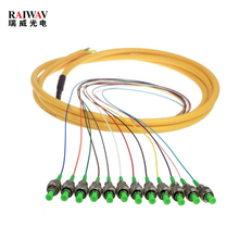 Fc 12 Colors Fiber Optic Pigtail Single